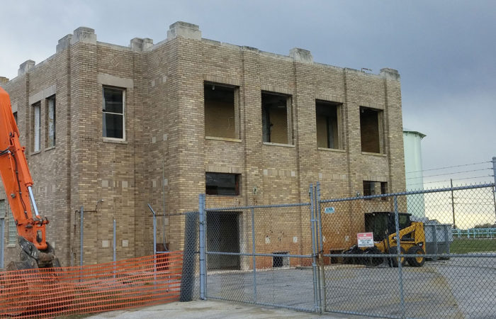 Commercial Demolition Services - Brick Buildings
