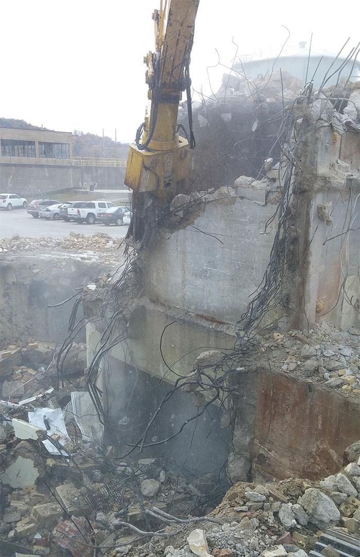 Commercial Demolition Services - Brick Buildings