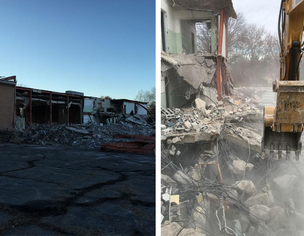 SLT Demolition Union road project